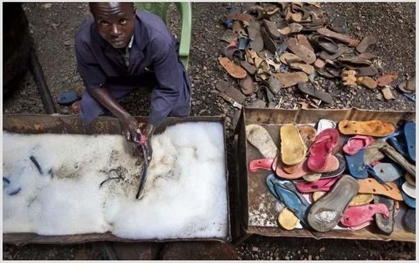 Ανακύκλωση παλιών παπουτσιών στην Αφρική (3)
