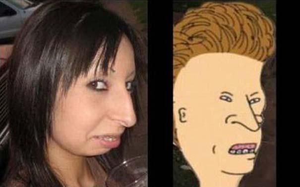 Άνθρωποι που μοιάζουν με διάσημους χαρακτήρες κινουμένων σχεδίων (4)