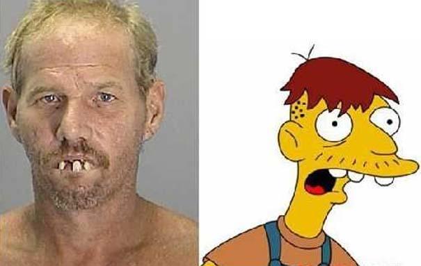 Άνθρωποι που μοιάζουν με διάσημους χαρακτήρες κινουμένων σχεδίων (7)