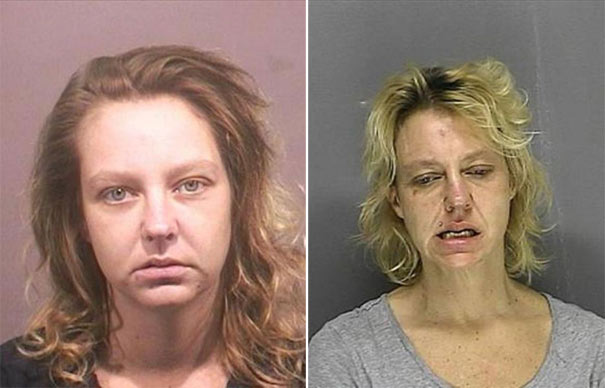 People before and after drug use (9)