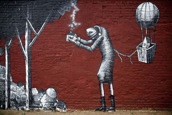 Εκπληκτικά δείγματα τέχνης του δρόμου απ' όλο τον κόσμο (1)