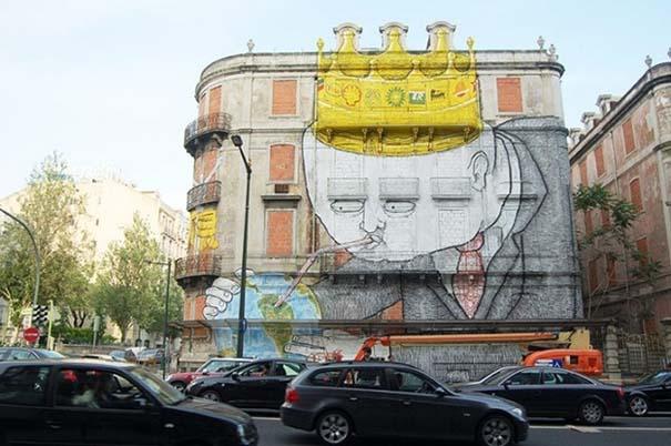 Εκπληκτικά δείγματα τέχνης του δρόμου απ' όλο τον κόσμο (13)