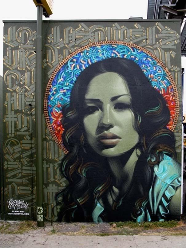 Εκπληκτικά δείγματα τέχνης του δρόμου απ' όλο τον κόσμο (14)
