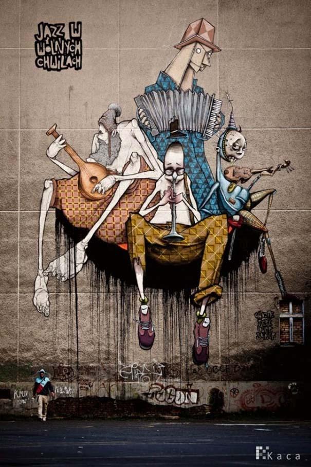 Εκπληκτικά δείγματα τέχνης του δρόμου απ' όλο τον κόσμο (15)