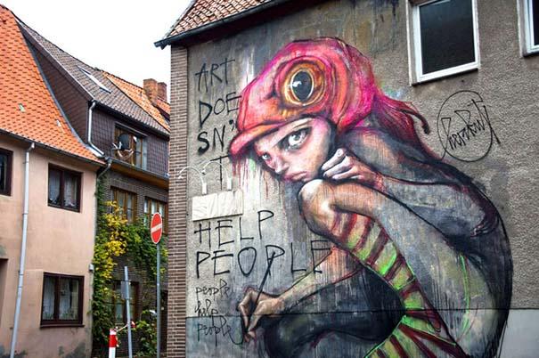 Εκπληκτικά δείγματα τέχνης του δρόμου απ' όλο τον κόσμο (17)