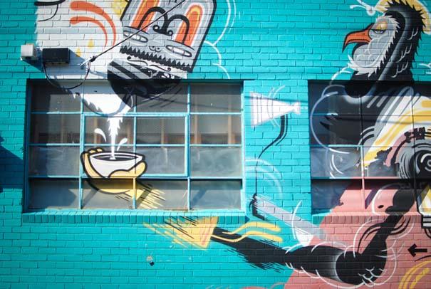 Εκπληκτικά δείγματα τέχνης του δρόμου απ' όλο τον κόσμο (20)