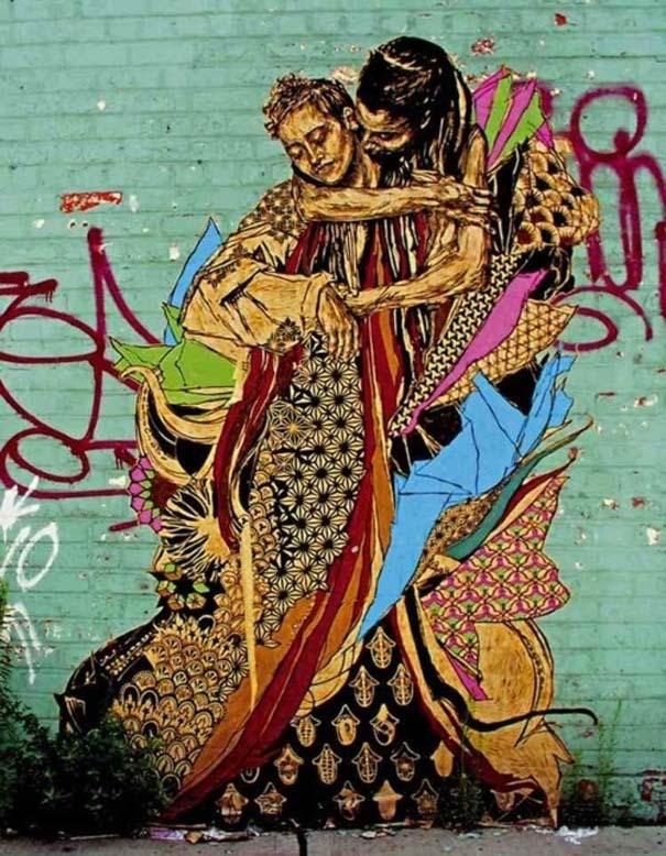 Εκπληκτικά δείγματα τέχνης του δρόμου απ' όλο τον κόσμο (21)