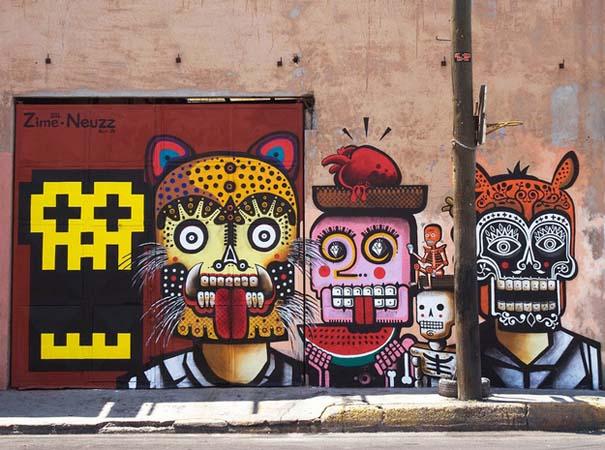 Εκπληκτικά δείγματα τέχνης του δρόμου απ' όλο τον κόσμο (33)