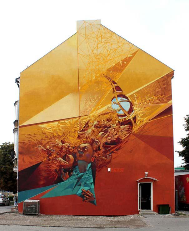 Εκπληκτικά δείγματα τέχνης του δρόμου απ' όλο τον κόσμο (35)