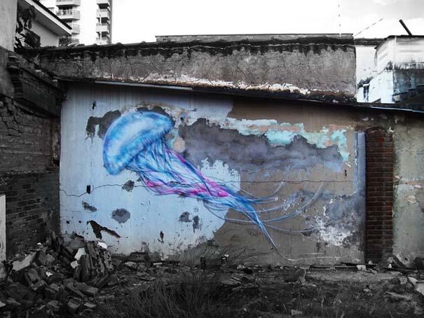 Εκπληκτικά δείγματα τέχνης του δρόμου απ' όλο τον κόσμο (43)