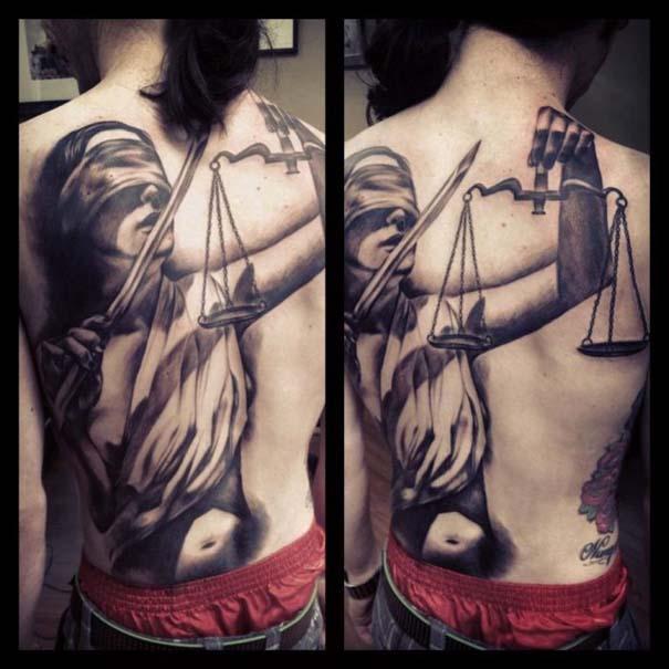 Εντυπωσιακά τατουάζ από τον Benjamin Laukis (3)