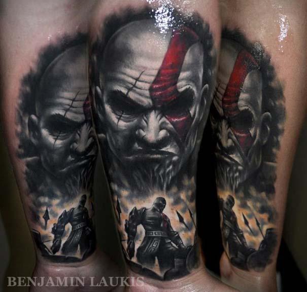 Εντυπωσιακά τατουάζ από τον Benjamin Laukis (4)
