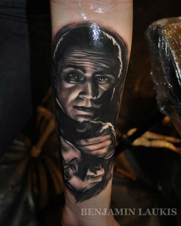 Εντυπωσιακά τατουάζ από τον Benjamin Laukis (6)