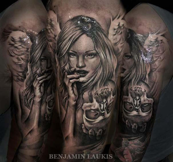 Εντυπωσιακά τατουάζ από τον Benjamin Laukis (8)
