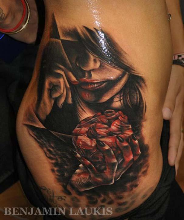 Εντυπωσιακά τατουάζ από τον Benjamin Laukis (15)