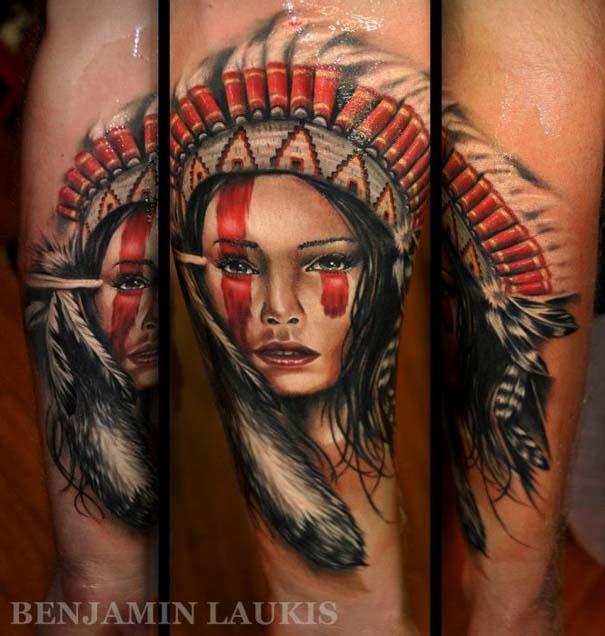 Εντυπωσιακά τατουάζ από τον Benjamin Laukis (16)