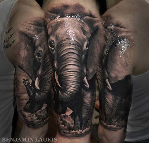 Εντυπωσιακά τατουάζ από τον Benjamin Laukis (17)