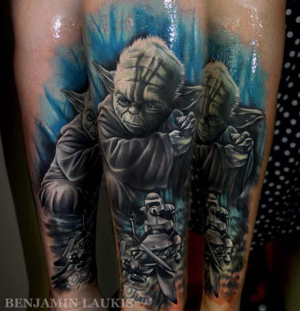 Εντυπωσιακά τατουάζ από τον Benjamin Laukis (18)