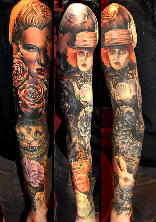 Εντυπωσιακά τατουάζ από τον Benjamin Laukis (19)