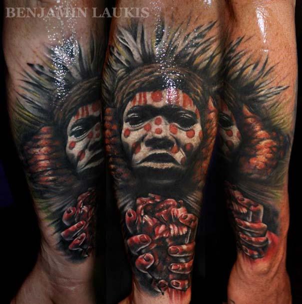Εντυπωσιακά τατουάζ από τον Benjamin Laukis (21)
