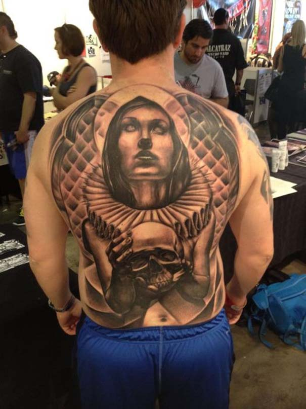 Εντυπωσιακά τατουάζ από τον Benjamin Laukis (25)