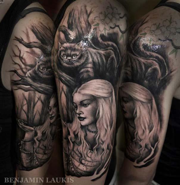 Εντυπωσιακά τατουάζ από τον Benjamin Laukis (26)