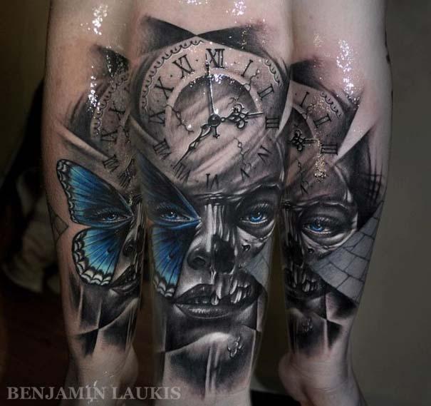 Εντυπωσιακά τατουάζ από τον Benjamin Laukis (28)