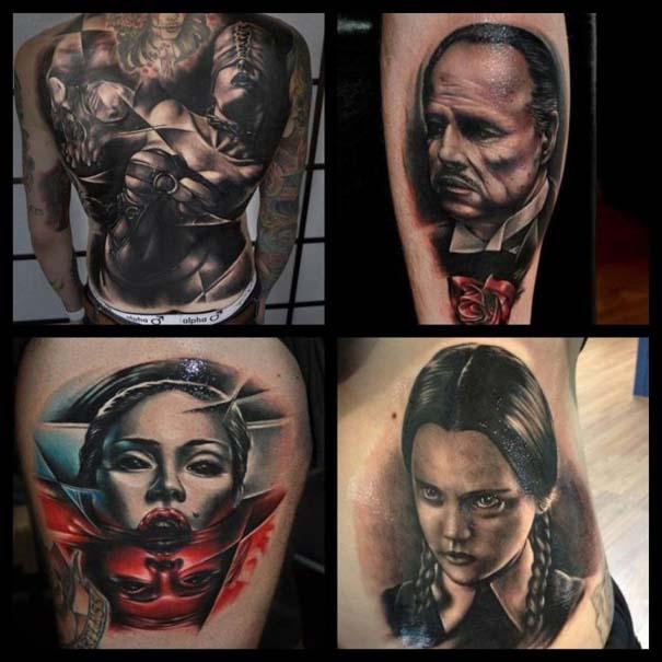 Εντυπωσιακά τατουάζ από τον Benjamin Laukis (35)
