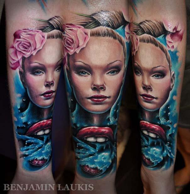 Εντυπωσιακά τατουάζ από τον Benjamin Laukis (37)