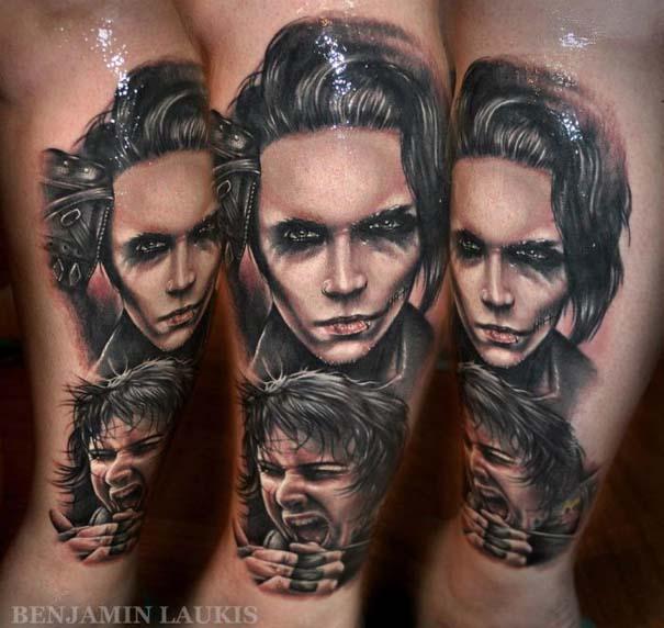 Εντυπωσιακά τατουάζ από τον Benjamin Laukis (38)