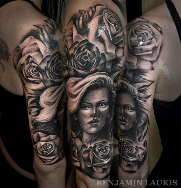 Εντυπωσιακά τατουάζ από τον Benjamin Laukis (41)