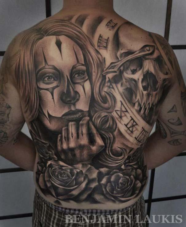Εντυπωσιακά τατουάζ από τον Benjamin Laukis (42)