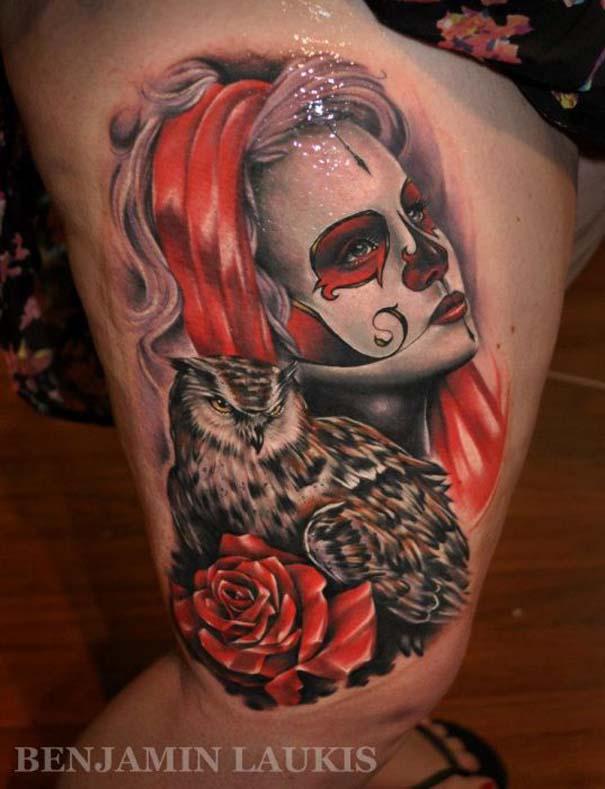 Εντυπωσιακά τατουάζ από τον Benjamin Laukis (43)
