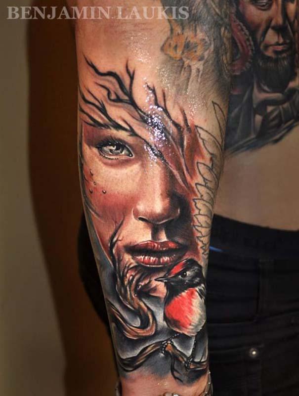 Εντυπωσιακά τατουάζ από τον Benjamin Laukis (45)
