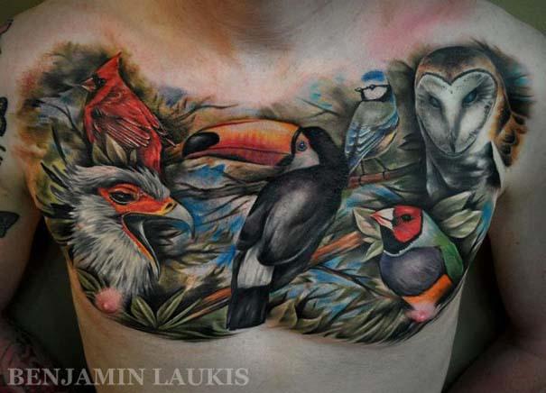 Εντυπωσιακά τατουάζ από τον Benjamin Laukis (46)