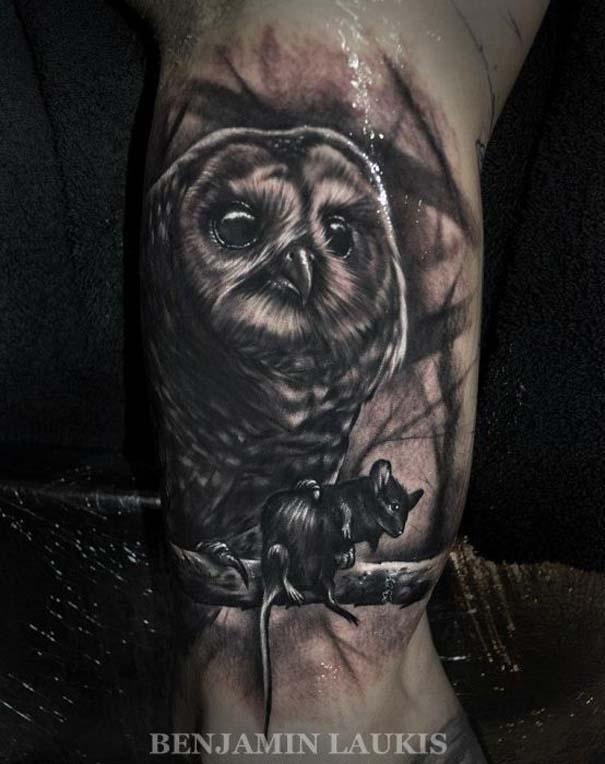 Εντυπωσιακά τατουάζ από τον Benjamin Laukis (48)