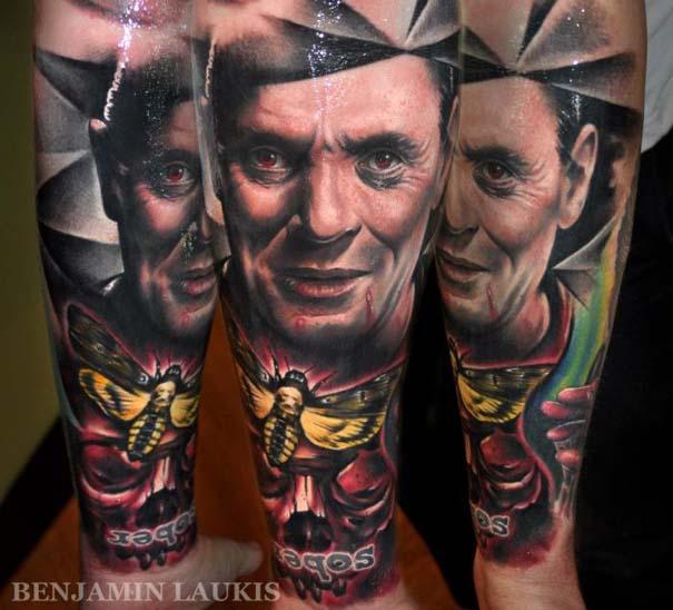 Εντυπωσιακά τατουάζ από τον Benjamin Laukis (49)