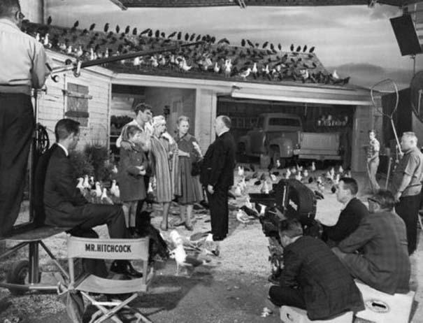 50 φωτογραφίες από τα γυρίσματα γνωστών ταινιών (9)