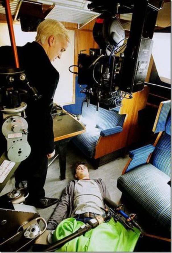 50 φωτογραφίες από τα γυρίσματα γνωστών ταινιών (19)