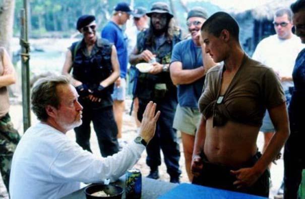 50 φωτογραφίες από τα γυρίσματα γνωστών ταινιών (26)