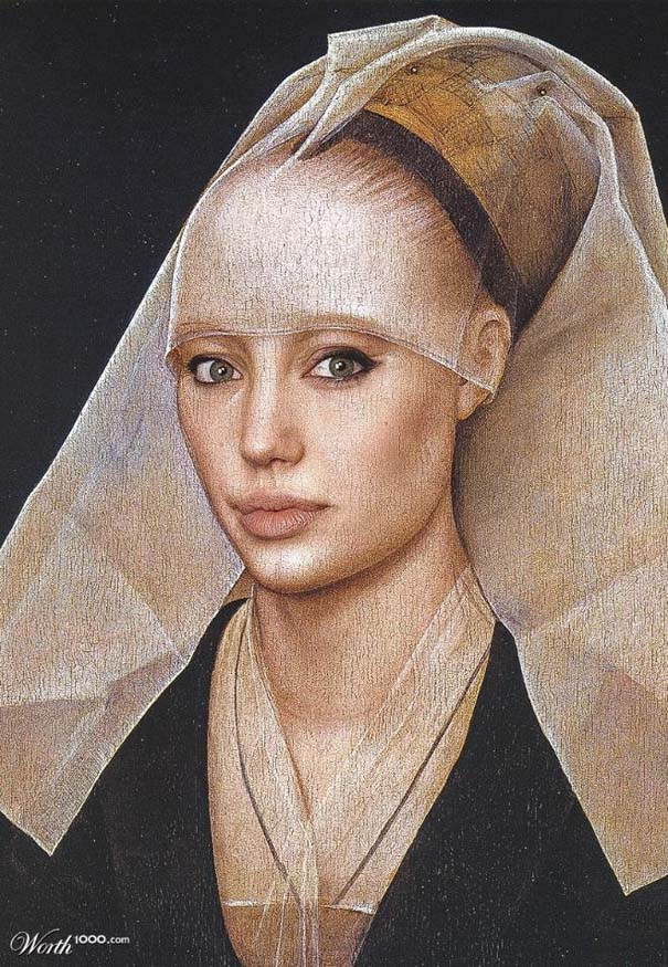 Κλασσικοί πίνακες ζωγραφικής με σύγχρονους celebrities (3)