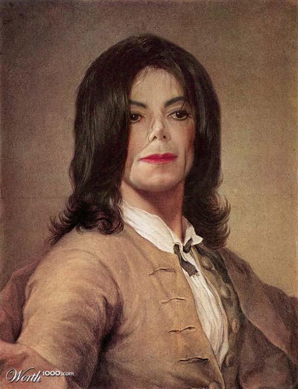 Κλασσικοί πίνακες ζωγραφικής με σύγχρονους celebrities (16)