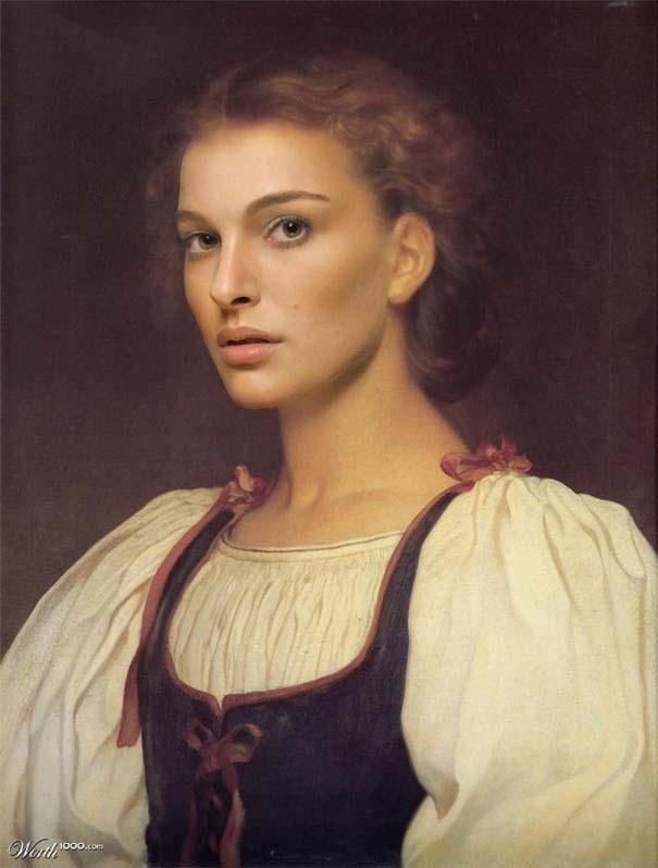 Κλασσικοί πίνακες ζωγραφικής με σύγχρονους celebrities (18)