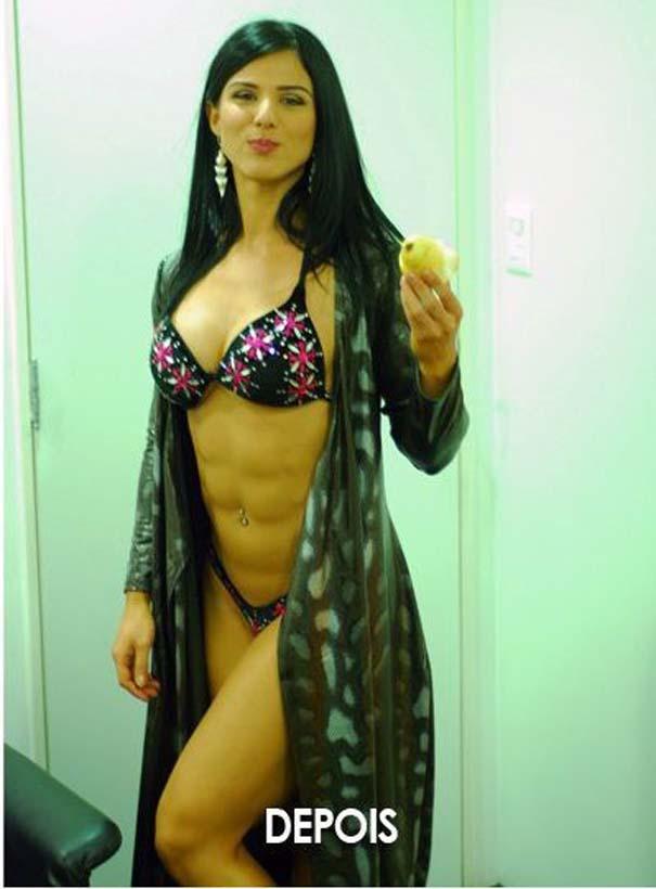 Η μυική μεταμόρφωση μιας γυναίκας (2)