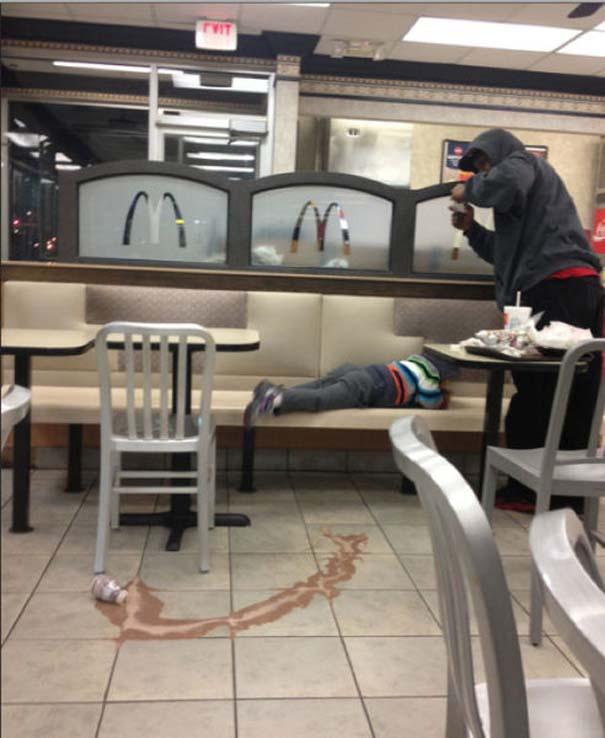 Παράξενα περιστατικά στα McDonald's (3)