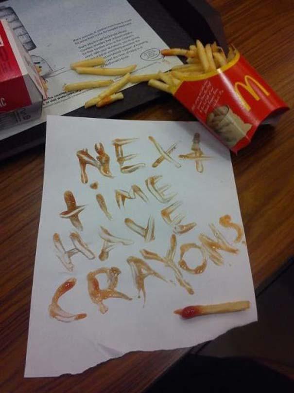 Παράξενα περιστατικά στα McDonald's (15)