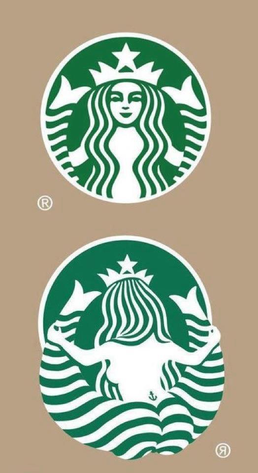 Το σήμα των Starbucks... από πίσω | Φωτογραφία της ημέρας