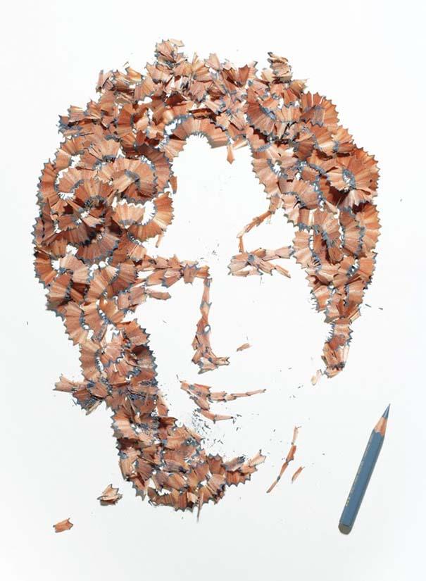 Πορτραίτα από ξύσματα μολυβιού (1)
