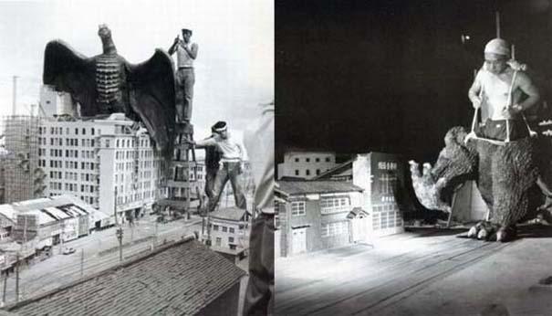Σπάνιες φωτογραφίες από τα γυρίσματα κλασσικών ταινιών (2)