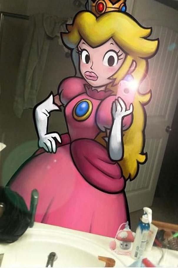 Χαρακτήρες video games σε καταστάσεις της πραγματικής ζωής (7)